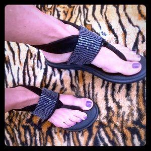 SANUK Sparkle Yoga Sling Sandal